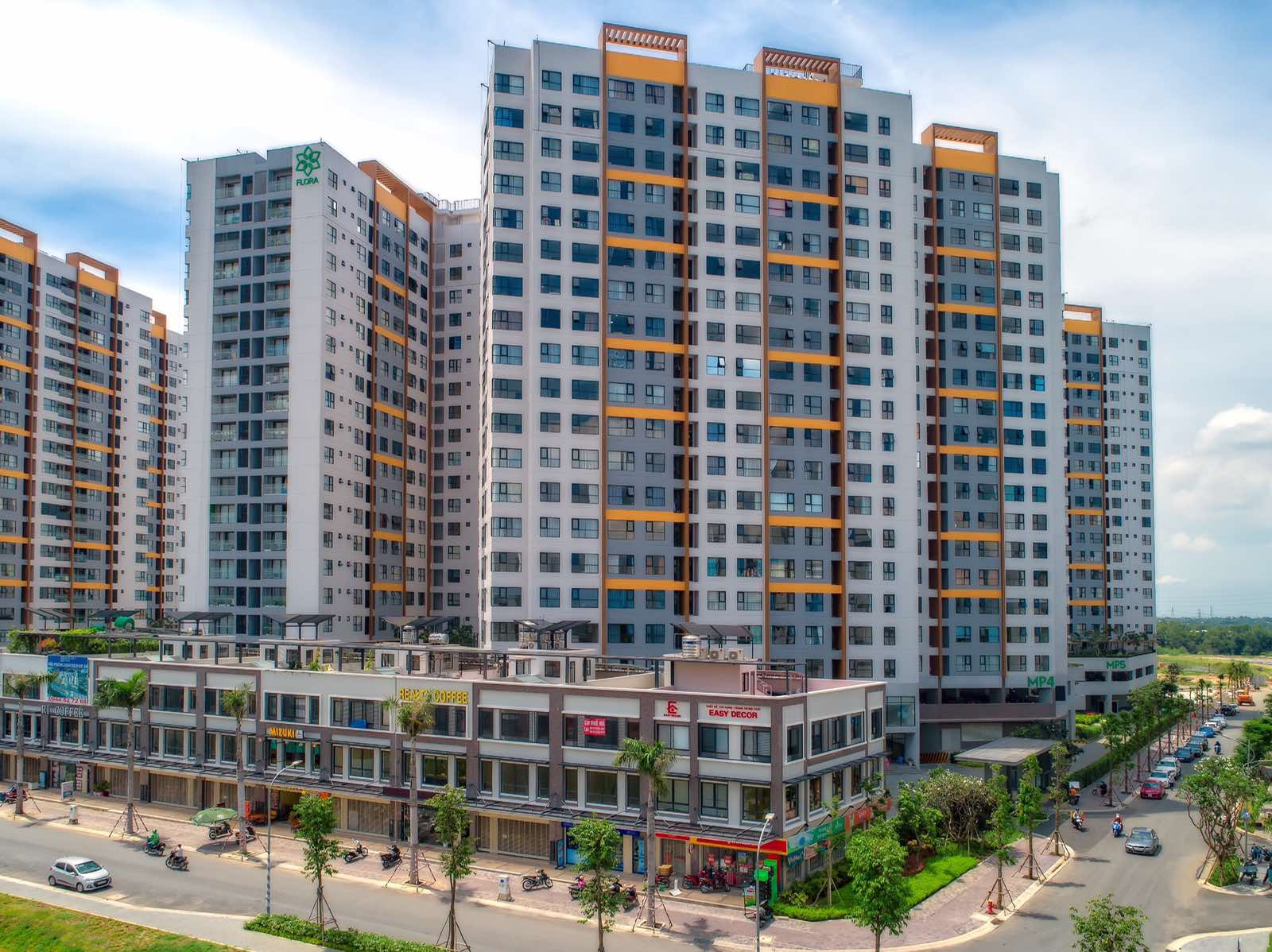 Hình ảnh mới khu đô thị Mizuki Park sau 10 tháng bàn giao căn hộ 11